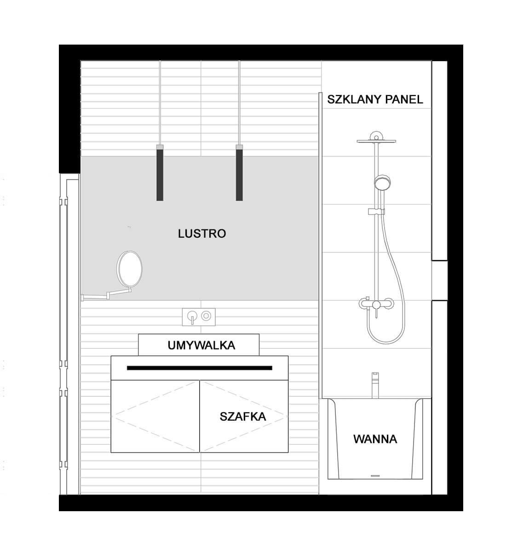 łazienka rodzinna elewacja 3
