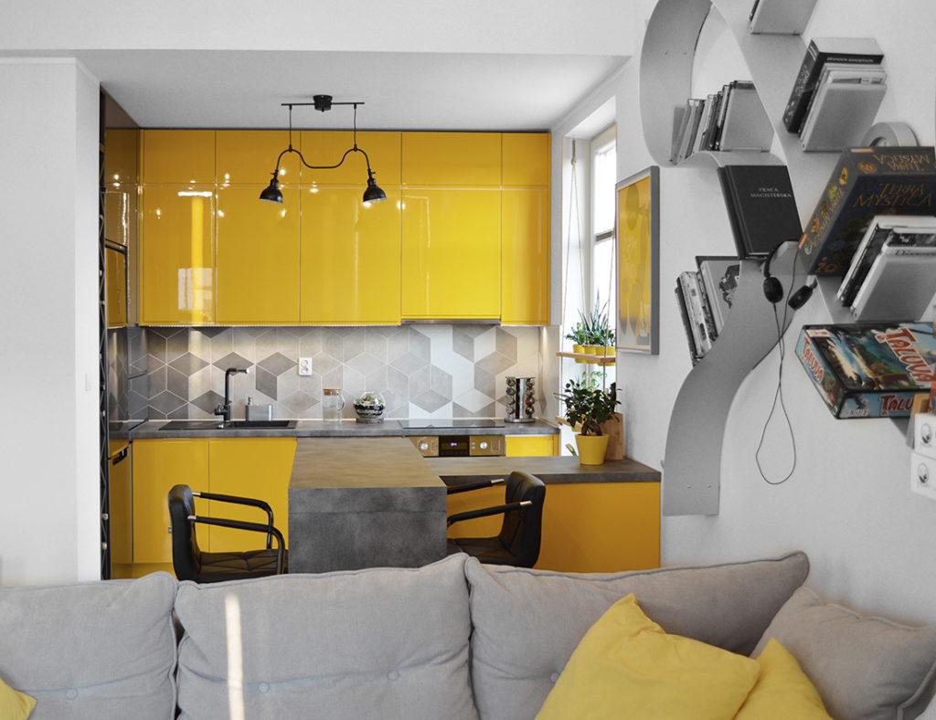 aranżacja kuchni w mieszkaniu 70 metrów