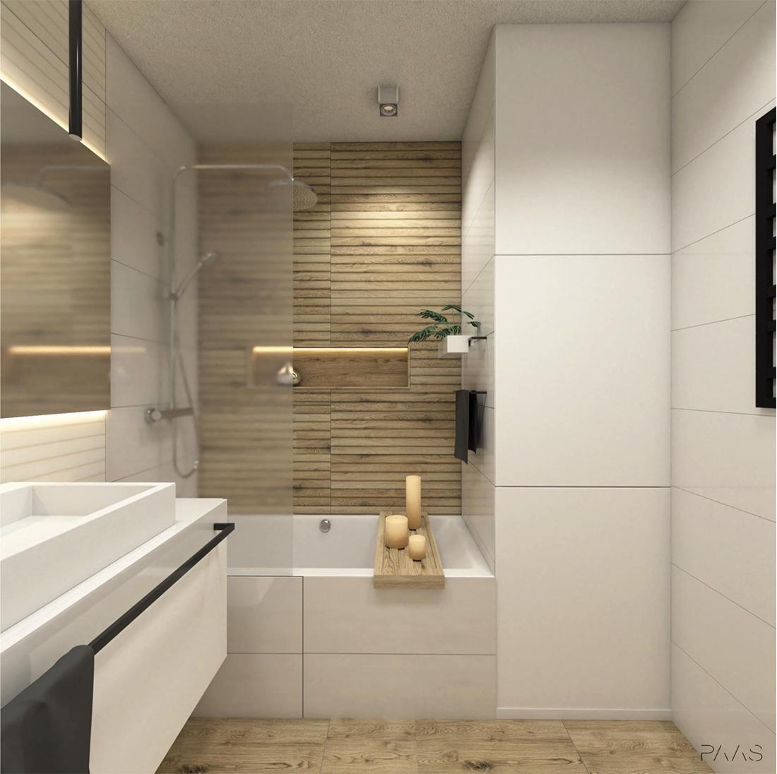 biała łazienka rodzinna