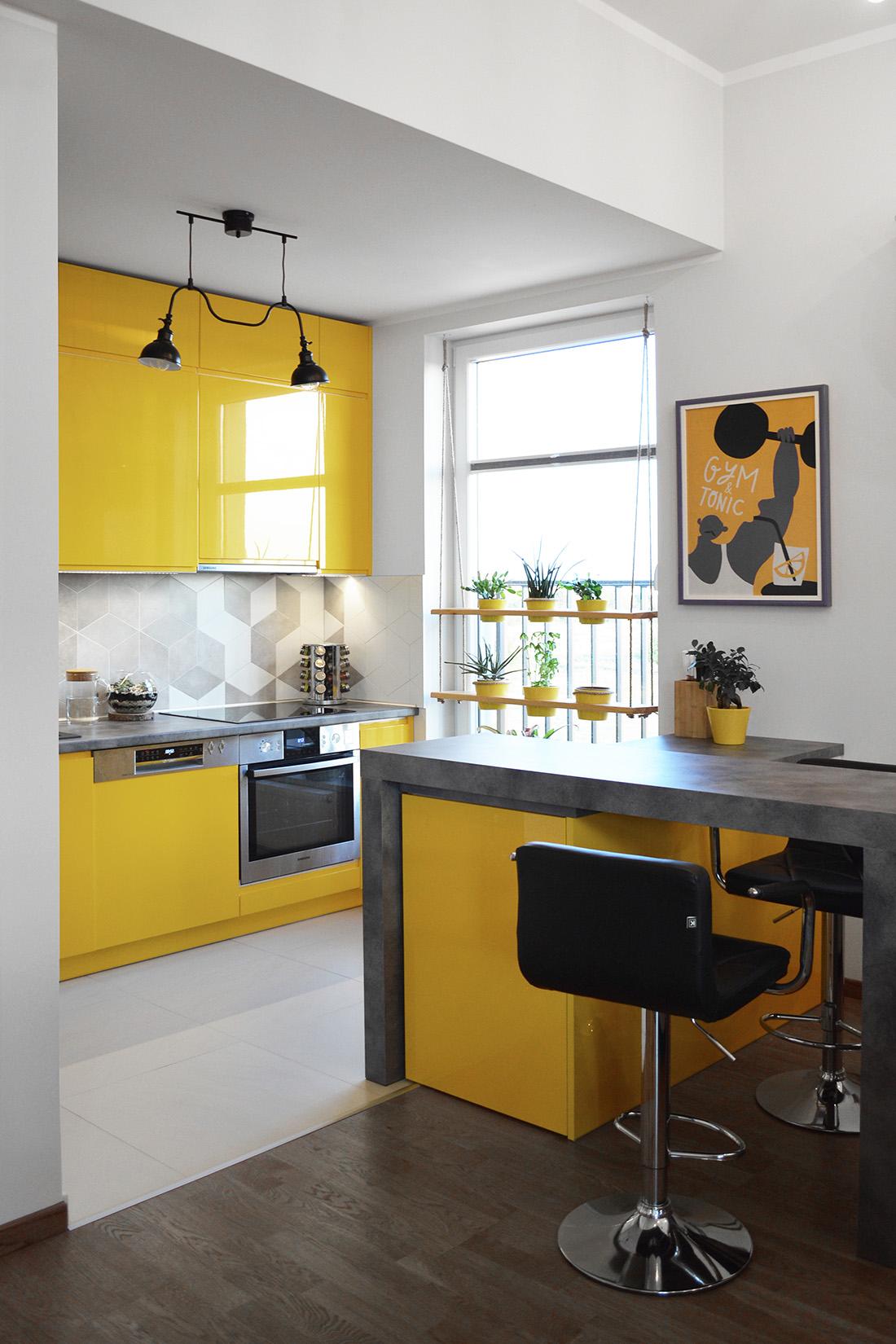 Kuchnia W Mieszkaniu 70m2