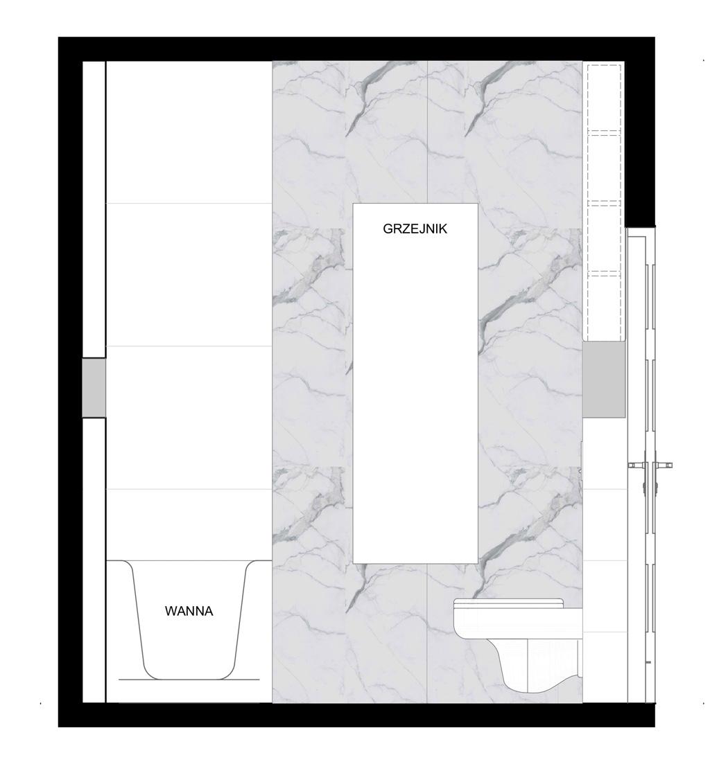projekt łazienki elewacja 2