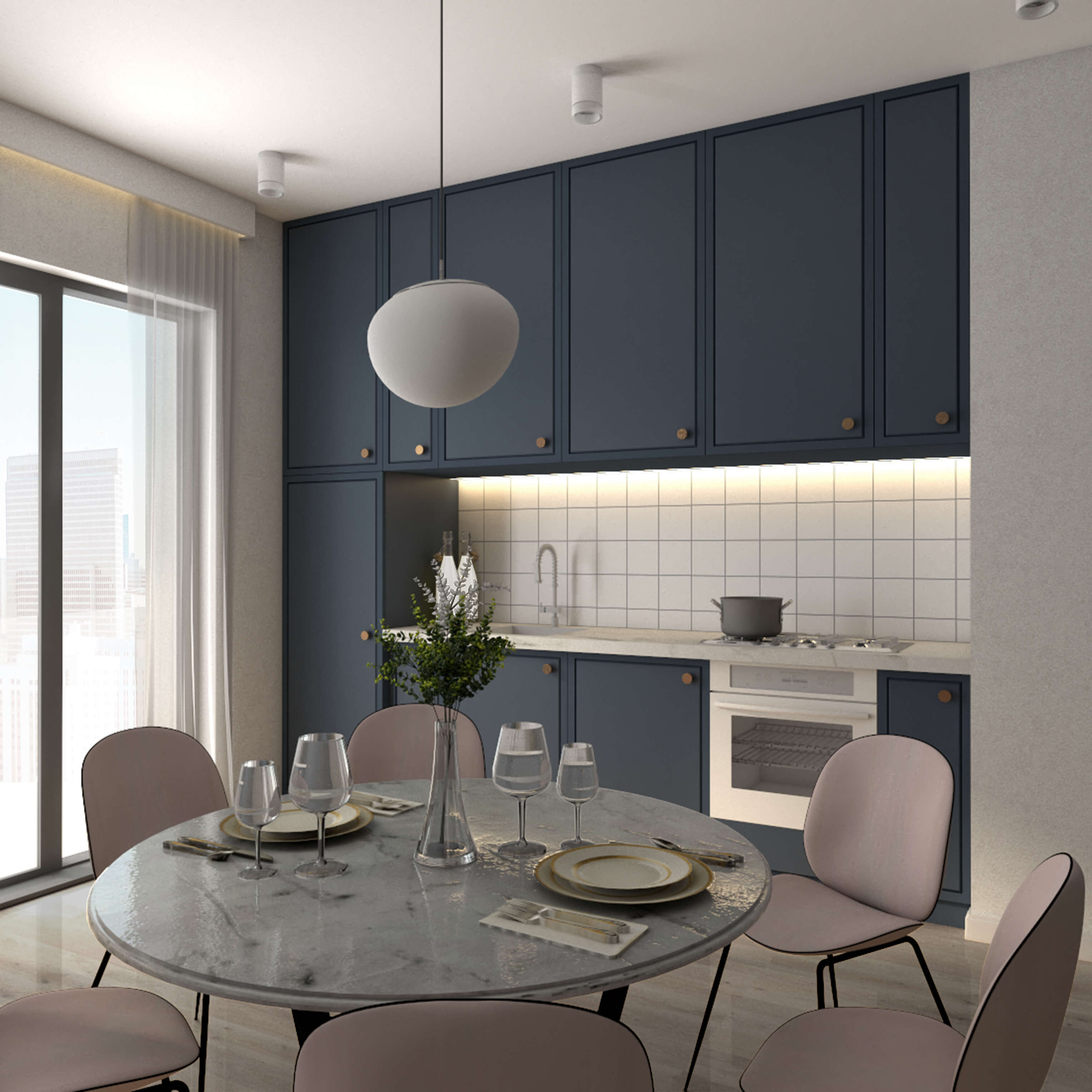 Projekt Mieszkania 21 W Bloku