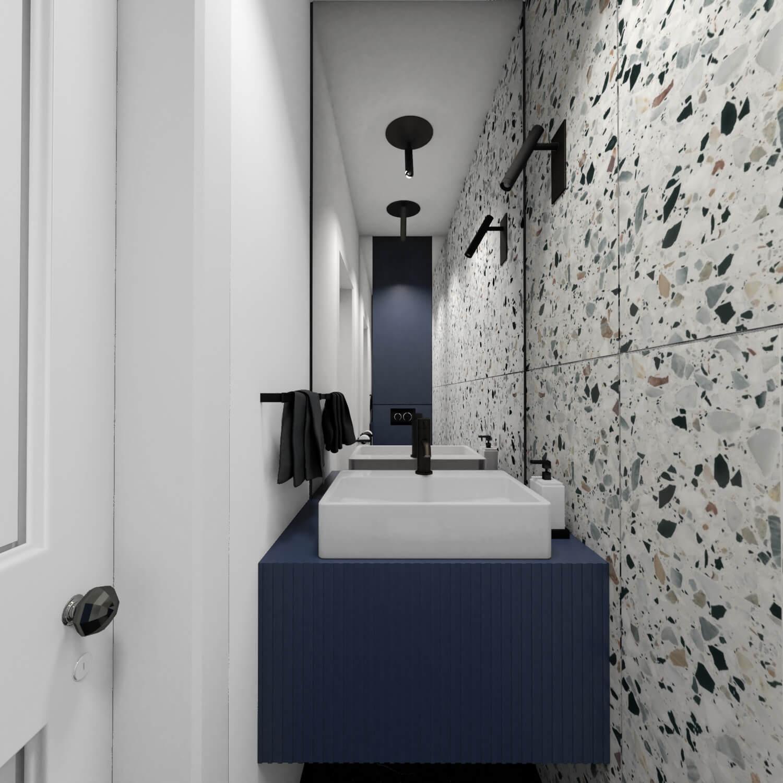 Pomysł na małą łazienkę